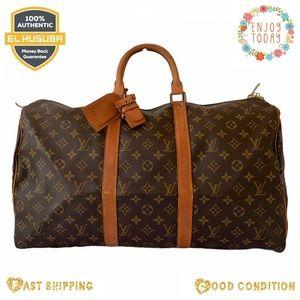 Louis Vuitton keepall travel bag keepall 50
